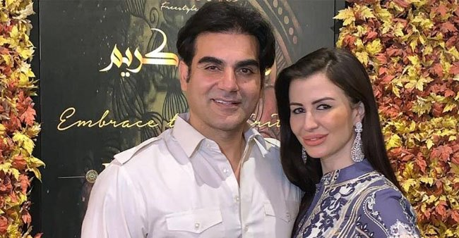 Watch: Arbaaz Khan Experienced a Hilarious Awkward Moment With Girlfriend Giorgia Andriani In Front Of His Son And Paparazzi