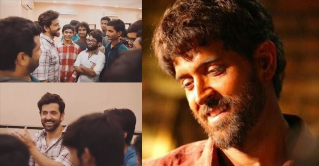 Watch: Hritik Roshan shares the video of his first meeting with super 30 kids ahead of his movie's release
