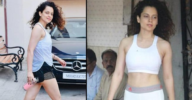 Kangana Ranaut's True Fashionista Look Post Her Work Out Session