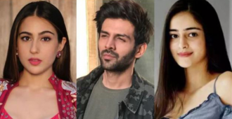 Ananya Panday was asked if rumored boyfriend Kartik Aaryan Looks better with her or Sara Ali Khan; here's what she said