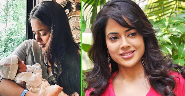 Sameera Reddy Shares First Pictures of Her Baby Daughter on Social Media
