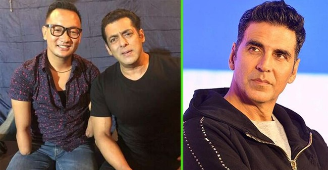 Fans Ridicule Salman Khan For His Latest Video Featuring ex-Indian Idol Contestant Thupten Tsering
