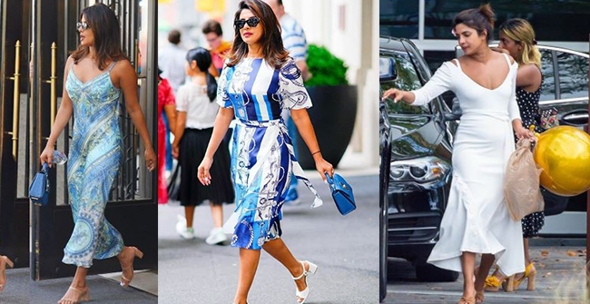Revealed: How much did Priyanka's White Dress And Blue Dress Cost – Details Inside
