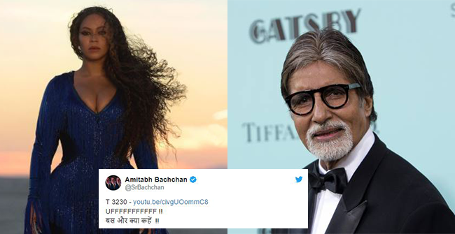 Amitabh Bachchan left speechless on watching Beyonce's Spirit music video