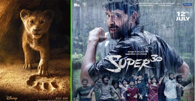Box Office Collections: Super 30 crosses 100 cr mark, while The Lion King mints 50 cr in first week