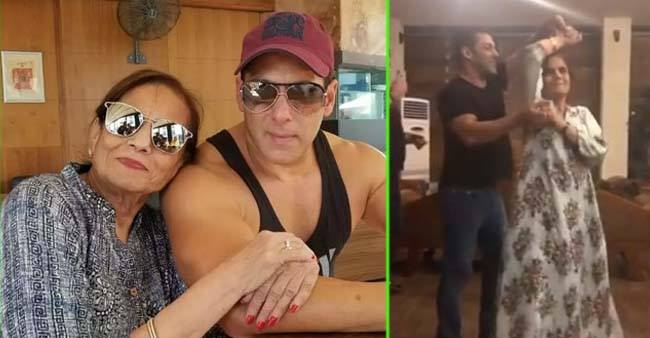 Watch: Salman Khan's Video of Dancing With Mom Salma Khan Will Melt Your Heart