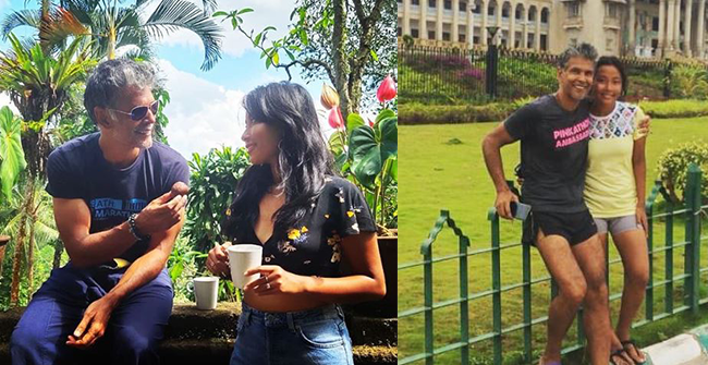 Milind Soman Posts an Attractive Throwback Picture; Wife Ankita Konwar Drops a Quirky Comment