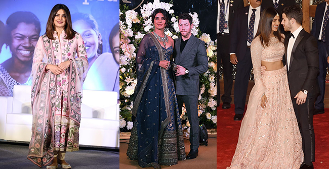 Priyanka Chopra Birthday Special: From Weddings to Red Carpet the best of PeeCee in Indian attire