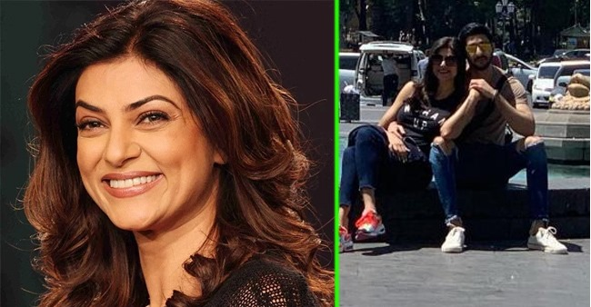 Sushmita Sen and her boyfriend Rohman Shawl's latest picture is all things love