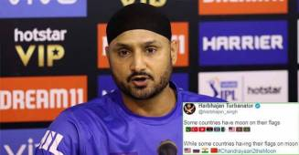 Harbhajan Singh Teases Pakistan and Others After Successful Launch of Chandrayaan-2