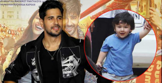 Sidharth Malhotra Reveals His Idea of Abducting Taimur Ali Khan