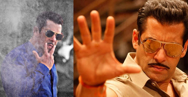 Salman Khan gets into the Dabangg mode as he starts filming for Dabangg 3