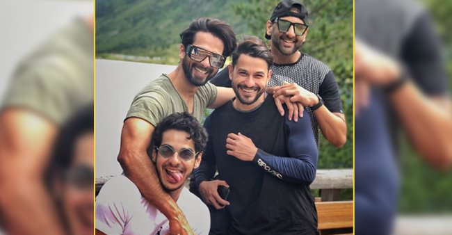 Shahid Kapoor, Kunal Kemmu and Ishan Khatter are all smiles in pictures from their Switzerland trip