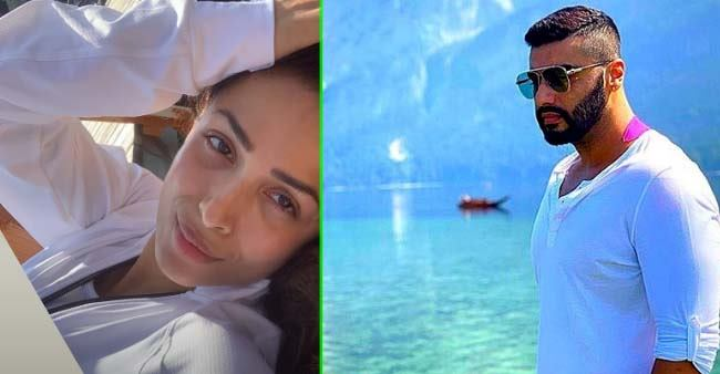 Lovebirds Malaika Arora and Arjun Kapoor share their pics from vacay giving away couple goals