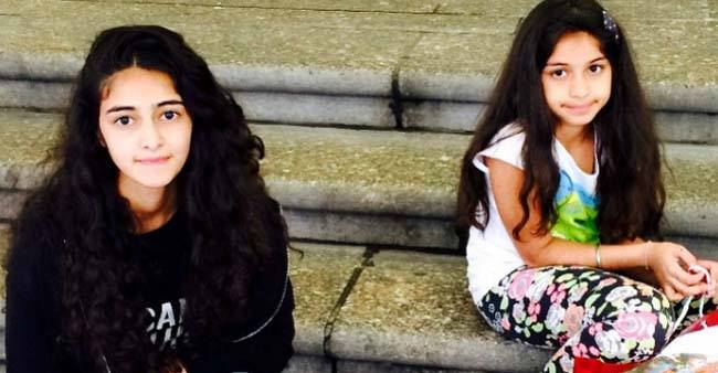 This throwback picture of Ananya Panday and her sister Rysa is melting the internet