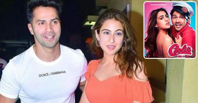 Sara Ali Khan and Varun Dhawan rehearse for the revamp version Husn Hai Suhana, see pics