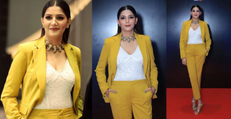 Sapna Choudhary grabs the limelight as she looks absolutely stunning at an award function, see pics