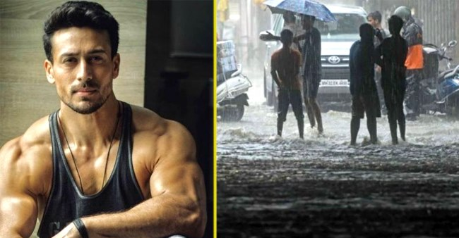 Tiger Shroff is frustrated by Mumbai Rains just like any other Mumbaikar right now