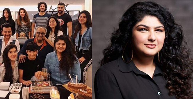 Anshula Kapoor recently launched her first venture and the whole Kapoor family is going ga ga over it