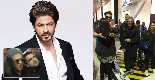 Watch: This viral video of Shah Rukh Khan posing with a fan is just purely adorable