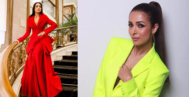Malaika Arora looks stunning in a red gown and fans can't help but take notice – Picture Inside