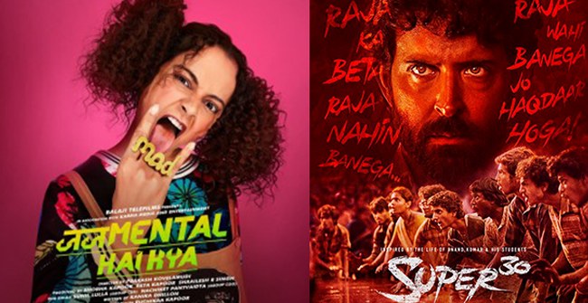 Box Office Collections: Judgementall Hai Kya Stutters to 30 cr mark, Super 30 remains steady