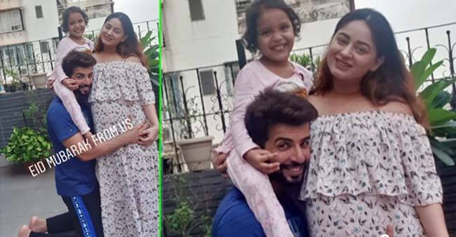 Mahhi Vij flaunts her baby bump in latest pic while wishing her fans Eid Mubarak, see pics