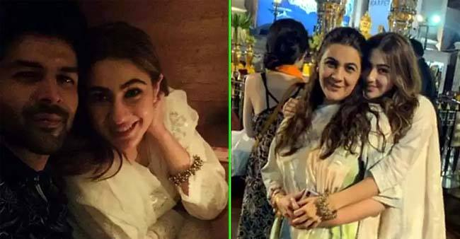 Kartik Aaryan and Amrita Singh join Sara Ali Khan in Bangkok for her birthday celebrations