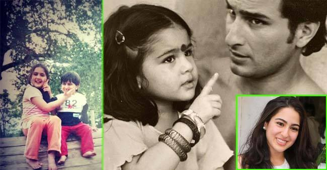 Sara Ali Khan Birthday Special: Rare photos of the Coolie no. 1 actress we bet you haven't seen