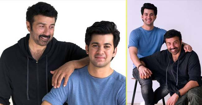 Sunny Deol's son Karan all set to make his debut in father's film, Sunny says its an emotinal moment