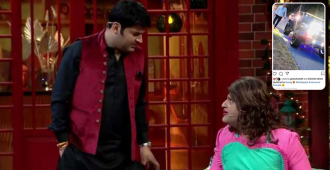 Krushna Abhishek's quirky comment on Kapil Sharma's pic from Canada has us all in splits