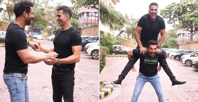 John Abraham says, it is good to work together with Akshay than facing each other