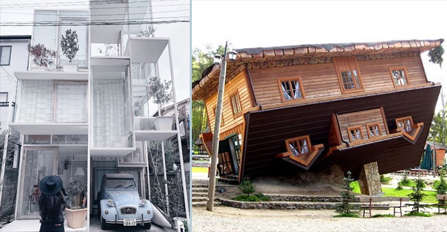 In Pictures: 5 Strangest Looking Houses Across The World