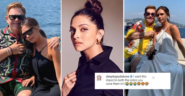 Deepika Padukone gives heads up to Victoria Beckham on her post; says 'I Want This Dress'