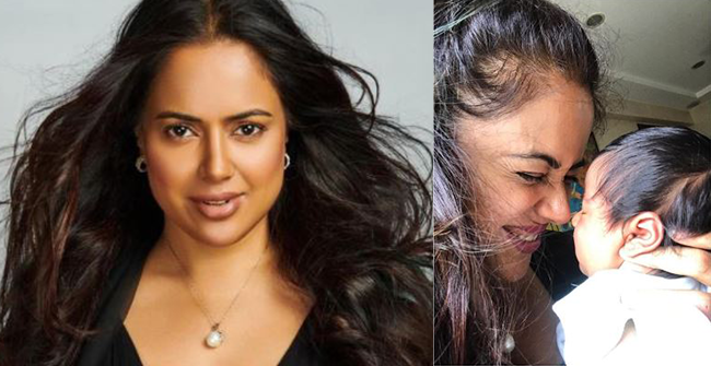 Sameera Reddy is celebrating everyday like a festival with her baby girl Nyra, see pics