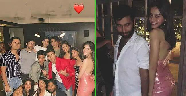Ananya Panday looks like a princess in THIS pink dress as she parties with Aryan Khan, see pics