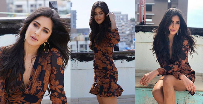 Katrina Kaif turns up the glam quotient again with her latest IG post in floral mini dress, see pics