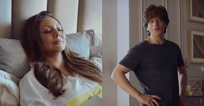 SRK fans Assemble: This latest TV commercial featuring SRK and his wife Gauri will leave you in splits