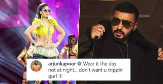 Arjun Kapoor has a funny dig at Katrina Kaif for wearing sunglasses at night