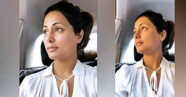 Hina Khan's latest no make up video of her listening to 'Sucker' is breaking the internet