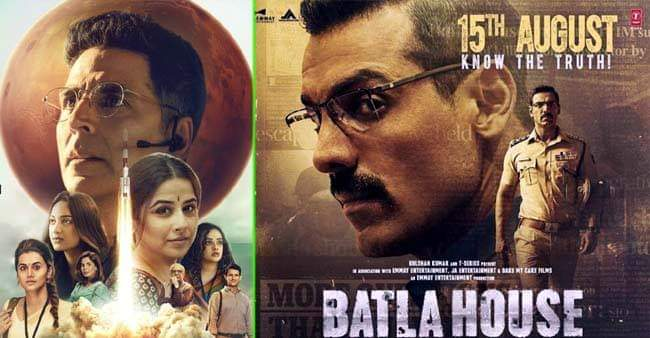 Box Office Collections: Mission Mangal continues its run, Batla House also going strong
