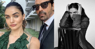Arjun Rampal lavishes praise on his GF Gabriella as she carries his suit better than him