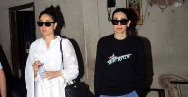 Kareena and Karisma Kapoor papped and their latest outfits are giving us major style statements