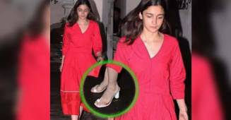 Revealed: The price of Alia Bhatt's white sandals is so high that you can treat yourself in that money