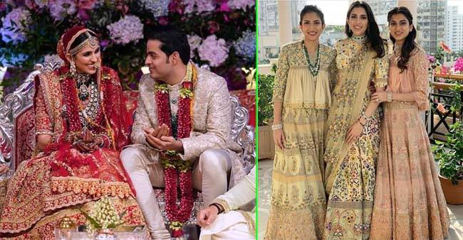 In Pictures: Unseen pictures from the wedding ceremonies of Shloka Mehta and Akash Ambani