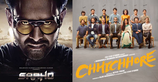 Box Office Collection: Saaho collects massive 115 crores in 7 days, Chhichhore to have mediocre opening