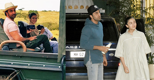 Ranbir Kapoor and Alia Bhatt's Kenya Vacay pictures are all over the internet – Details Inside