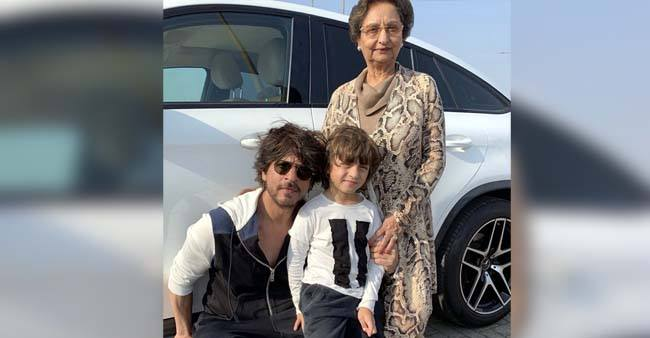 Shah Rukh Khan posts an adorable wish for his 'funny' mom-in-law on her birthday – Details Inside