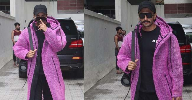 Ranveer Singh leaves the fashion police stunned again with his latest clothing style, see pics
