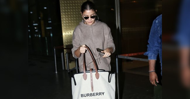 Anushka Sharma Carrying a Handbag at the Airport Values Whopping Price